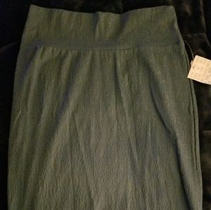 NWT Medium LulaRoe Cassie Skirt-Gray